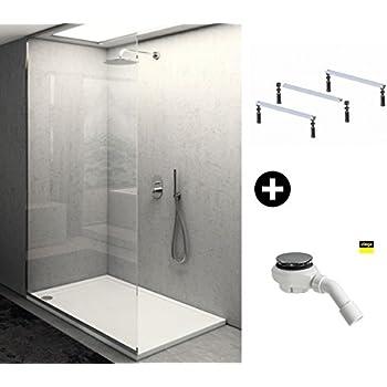 90x90 duschtasse duschwanne flach wanne h 5 cm f r duschabtrennung duschkabine d. Black Bedroom Furniture Sets. Home Design Ideas