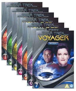 "Produktbild DVD Box Sets Star Trek "" Raumschiff Voyager "" - Komplette Serie Staffel 1-7 (47 DVD`s) (UK-Import)"