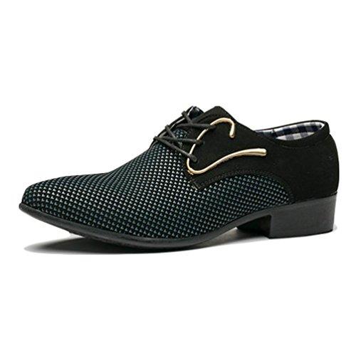 Männer Business Shoes Oxfords Hochzeitskleid Schuhe Spitzen Mode männliche Wohnungen