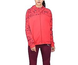 Puma Womens Cotton Jacket (85080028_Pink_S)