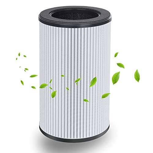 FAMTOP Air Purifier Replacement Filter Household 99.5% Pm2.5 Removal Rate, 4N1 Composite Filter, Purification...