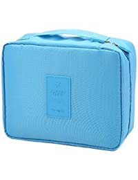 N-STORE's Portable Waterproof Multi Pouch Travel Toiletry Cosmetic Bag With Handle (Color May Vary)