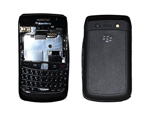 Full Housing Body Panel Faceplate For Blackberry Curve 9700 Black  available at amazon for Rs.799