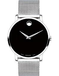 Movado Museum Classic Analog Black Dial Men's Watch - 607219