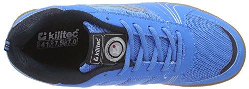 Killtec Soccero Unisex-Erwachsene Hallenschuhe Blau (neon blue / 00838)