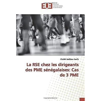 La RSE chez les dirigeants des PME sénégalaises: Cas de 3 PME