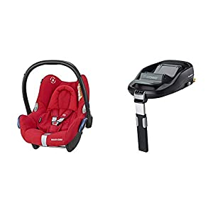 Maxi-Cosi CabrioFix Baby Car Seat with FamilyFix ISOFIX Base, Nomad Red   10