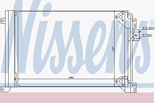 Preisvergleich Produktbild Nissens 94713 Kondensator, Klimaanlage