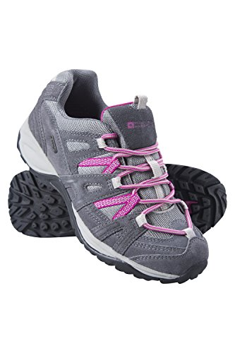Mountain Warehouse Direction Schuhe für Damen - Wasserfeste Regenschuhe, Bequeme Damenschuhe, gepolsterte Allwetterschuhe - Zum Spazierengehen, Trekken und Wandern Dunkelgrau 41 EU