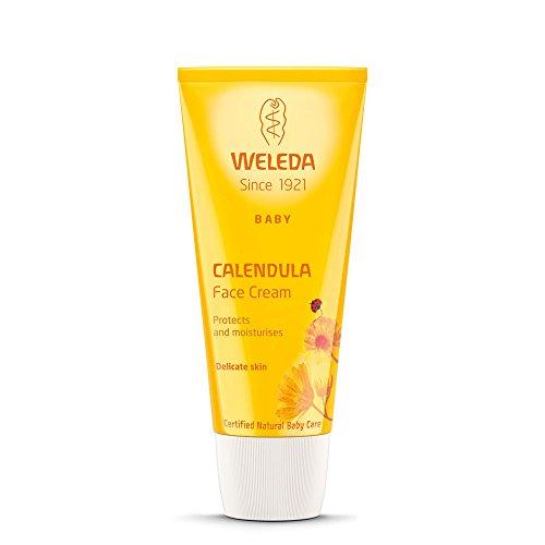 Weleda Calendula Gesichtscreme, 4er Pack (4 x 50 ml) -
