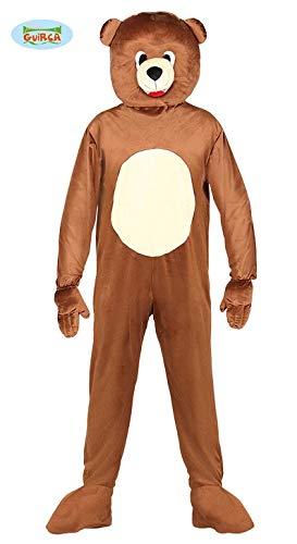 Kostüm Maskottchen Bär erwachsene Größe -