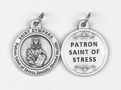 st-dymphna-healing-saint-medal-for-stress