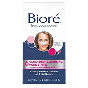 Biore Ultra Pore Strips, Pack of 6
