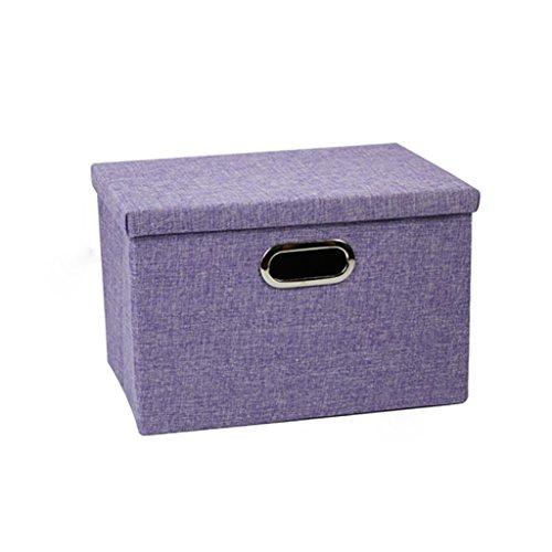 KKY-ENTER Gris clair Boîte de rangement Boîte de rangement Boîte de rangement Boîte de rangement Boîte de rangement à grande capacité ( taille : 39*27*25cm )