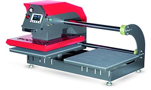 Secabo TPD7 Pneumatik Doppelplatten Presse
