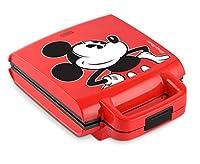 Disney DCM-41 Classic Mickey Waffle Stick Maker, Red