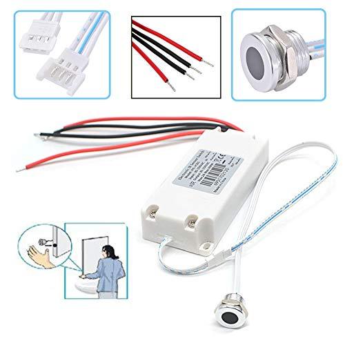 Infrarot Sensor Schalter IR Sensor,Mini-Sensor Bewegungsmelder schaltet durch Handbewegung für die Schrankküche -