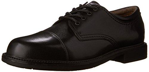 Dockers Men's Gordon Cap Toe Oxford,Black,15 W US Cap Toe Oxford Cap