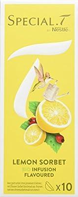 SPECIAL.T by Nestlé Infusion Lemon Sorbet Boîte 10 Capsules 28 g - Lot de 6
