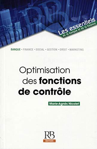 Optimisation des fonctions de contrôle