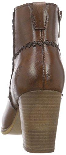 Marc O'Polo Mid Heel Bootie, Bottes femme Marron - Braun (cognac 720)