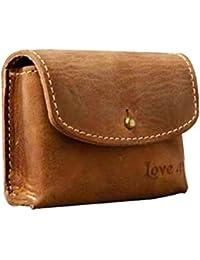 Imagin Leather Brown Shoulder Sling Bag (Brown)