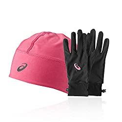 ASICS Performance Pack - Winter Beanie Plus Gloves - Small