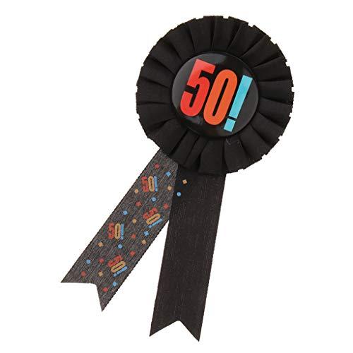 JoyMerit 30 40 50 60 Cumpleaños Insignia Roseta Premio