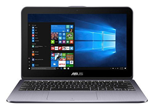 2 TP203NAH-BP054T 29,4 cm (11,6 Zoll HD Touch) Convertible Laptop (Intel Celeron N3350, 4GB RAM, 1TB HDD, Intel HD Graphics, Win 10 Home) grau ()