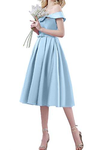 TOSKANA BRAUT - Robe - Trapèze - Femme bleu clair