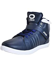 Pro (from Khadims) Mens Faux Leather Dress Sneakers