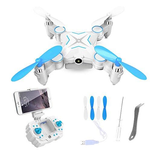 Ferngesteuerter-Quadrocopter-super-mini-Drohne-24GHz-mit-1MP-HD-Kamera-WiFi-FPV-Quadcopter-Smart-PhoneFernbedienung-gesteuert