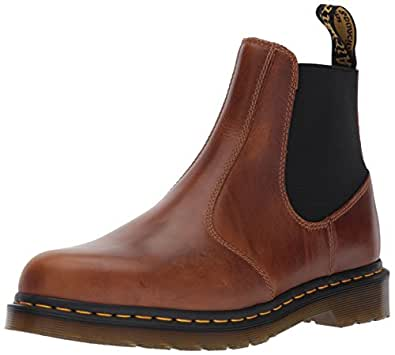 Dr martens men 39 s hardy butterscotch chelsea boot brown for Amazon dr martens