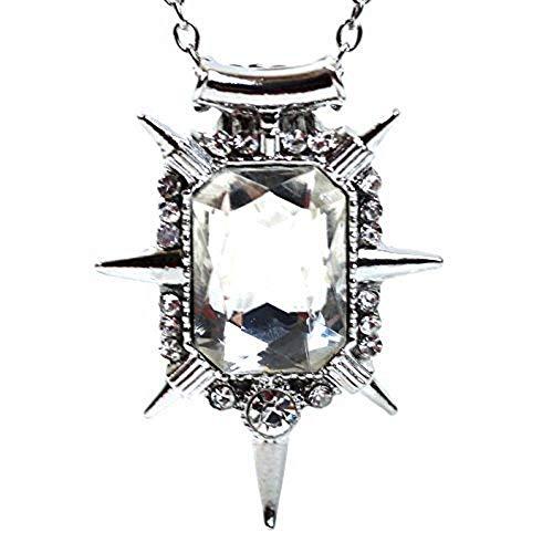 Inception Pro Infinite Halskette mit transparentem Kristallanhänger von Glinda Es war einmal der Zauberer von Oz Southern Witch - Geschenkidee