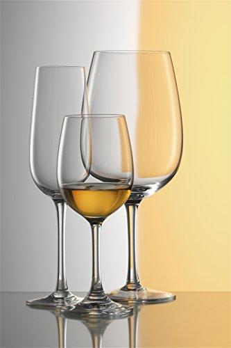 Stölzle Lausitz Bordeaux Rotweingläser Weinland 540ml, 6er Set Weinglas, hochwertige Qualität, spülmaschinenfestes Bordeauxgläser, große Rotweinkelche - 5