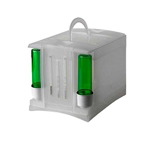 Pet Ting Transportbox/Reisekäfig, für Finken/Kanarienvögel, Kunststoff