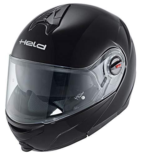 Held Turismo Motorrad Klapphelm, Farbe schwarz, Größe XXL