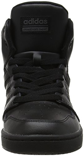 adidas Herren Cloudfoam Super Hoops Mid Gymnastikschuhe Schwarz (Core Black/core Black/grey Five F17)