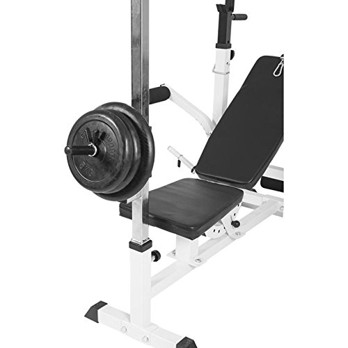 41QcGBuXYaL. SS500  - Gorilla Sports Lat Attachment for Universal Workstation