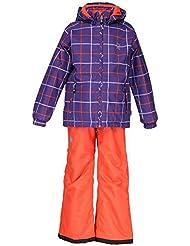 Color Kids. Tamaño-traje de Trento, 102708-493, heliotropo, color violeta, tamaño 98/104