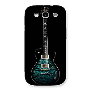 Gorgeous Greenish Print Guitar Back Case Cover for Galaxy S3 Neo