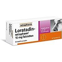 Loratadin ratiopharm 10 mg Tabletten 50 stk preisvergleich bei billige-tabletten.eu