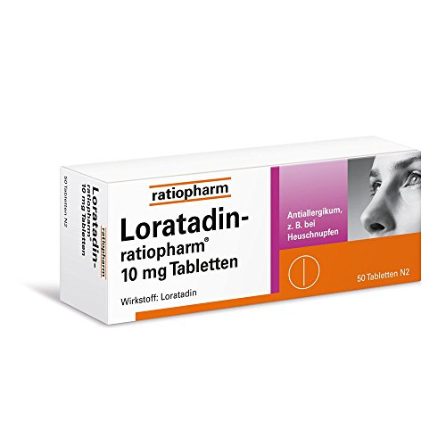 Loratadin ratiopharm 10 mg Tabletten 50 stk (Loratadin Tabletten)