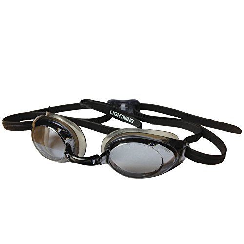 Finis Goggles Lightning Schwarz/Silbermoor, One Size