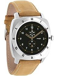 NARA XW PRO – XLYNE Smartwatch classic, premium & elegant  –  Smartwatch Herren  –  iOS und Android kompatibel –  iPhone Smartwatch für Fitness, Whatsapp Smartwatch