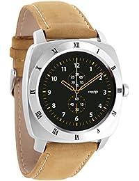 xlyne Ultra Slim Android y iOS Smart Watch Classic, Premium & elegante–Hombre y Teen Smart Watch–Bluetooth Smart Watch WhatsApp, Facebook, para Samsung, Apple, HTC, LG, pantalla de 3.1 inches, 0.057 kilograms, color silber/beige, NARA