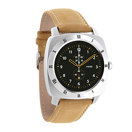 X-WATCH NARA XW PRO Smartwatch classic, premium & elegant - Smartwatch Herren E-mail Bluetooth