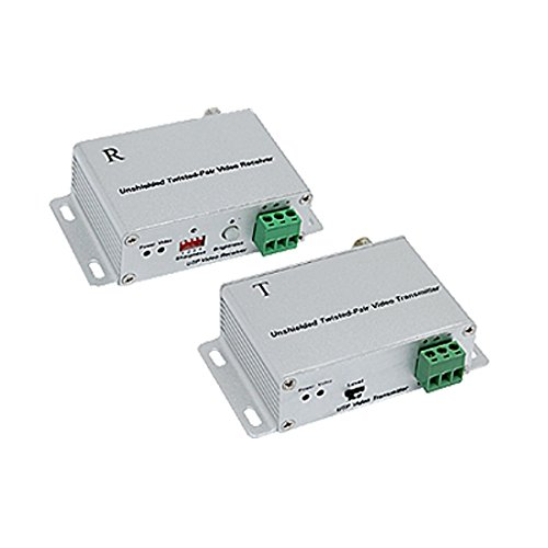 DealMux Unshielded Twisted-Pair UTP Video Balun Receiver Transmitter Twisted-pair-video-receiver