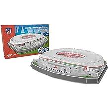 NANOSTAD Estadio Wanda Metropolitano (Club Atletico de Madrid) Puzzle 3D (Producto Oficial Licenciado