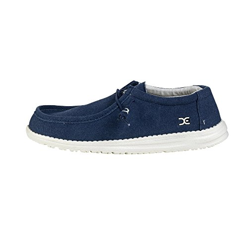 Dude Shoes Men's Wally Classic Sea Blue Blu